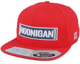 Cbar Red 110 Snapback - Hoonigan