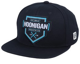 Bracket Black Snapback - Hoonigan