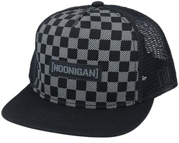 Checkers Black Trucker - Hoonigan
