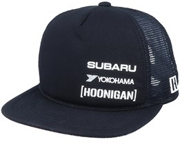 Subaru 199 Gymkhana Star Black Trucker - Hoonigan