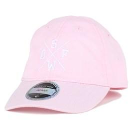 Kids Rexdale Baseball Light Pink Adjustable - State Of Wow