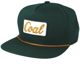 Palmer Forest Green Snapback - Coal
