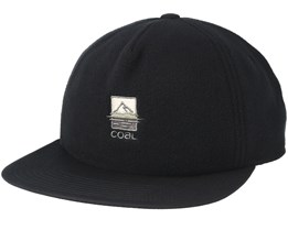 The North Black Strapback - Coal