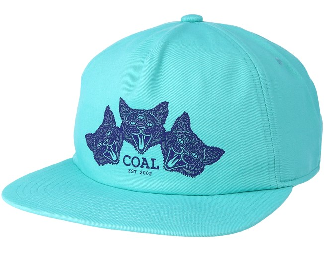 36294511c The Triplets Mint Snapback - Coal caps - Hatstoreworld.com