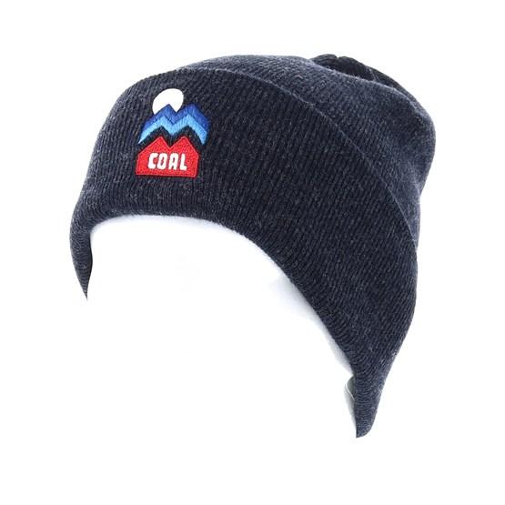 Donner Heather Navy Cuff - Coal beanie - Hatstore.co.in 9062f7d6d4b