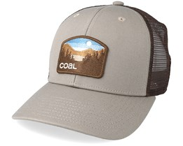 Hauler Low Khaki Trucker - Coal