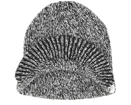Basic Black Marl Beanie - Coal