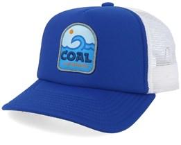 Echo Blue/White Trucker - Coal