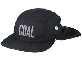 Lawrence Black 5 panel Ear Flap - Coal