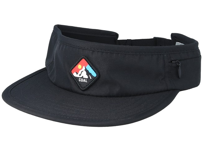 4616d81ce0e Peak Black Visor - Coal caps - Hatstoreworld.com