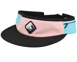 Peak Pink Visor - Coal