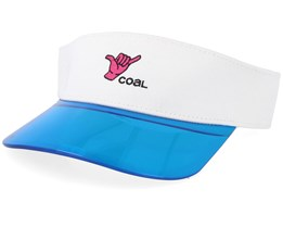 Sandy White Visor - Coal