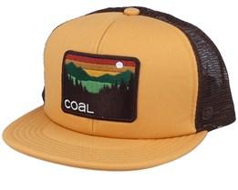 Hauler Yellow/Brown Trucker - Coal