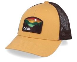 Howler Low Mustard/Brown Trucker - Coal