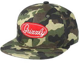 Bootcamp Camo Snapback - Grizzly