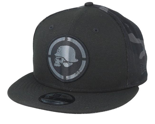 04d35b51a69072 Black Ops 9Fifty Black Snapback - Metal Mulisha caps - Hatstoreworld.com
