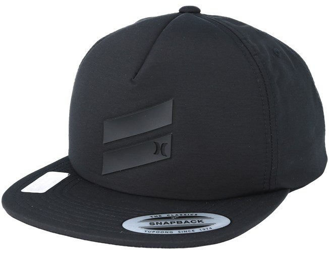 sale retailer a1e25 c5bcd Slash Black Snapback - Hurley