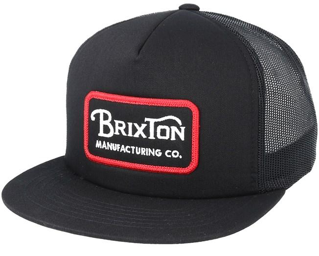 0ce7fc884f Grade Mesh Black Trucker Snapback - Brixton caps | Hatstore.co.uk