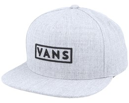 Easy Box Heather Grey Snapback - Vans