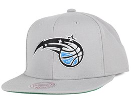 Orlando Magic Wool Solid Grey Snapback - Mitchell & Ness