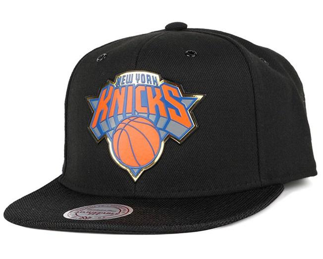 1ec67aaaf4e NY Knicks Carat Snapback - Mitchell   Ness cap - Hatstore.co.in
