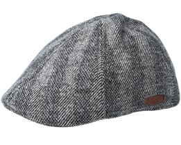 Mr. Mitchell Dark Heather Flat Cap - Barts