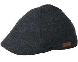 Mr. Mitchell Black Flat Cap - Barts