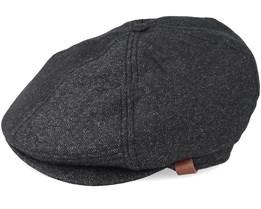 Jamaica Dark Heather Grey Flat Cap - Barts