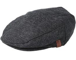Dayton Black Flat Cap - Barts