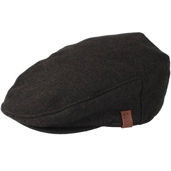 Keps Dayton Brown Flat Cap - Barts - Brun Flat Caps