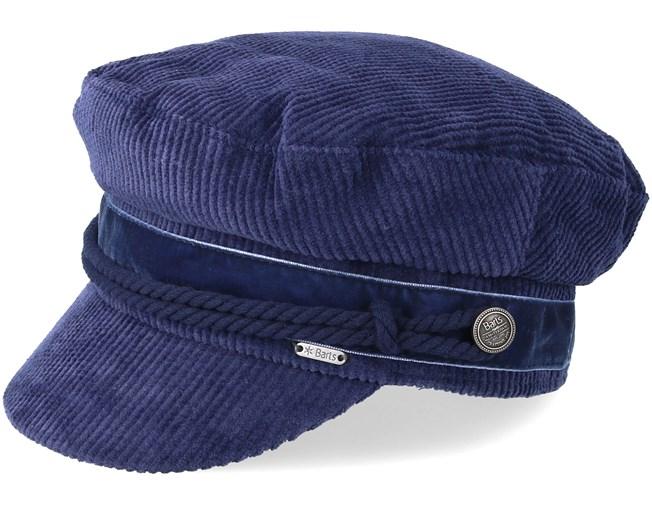 Odessa Navy Flat Cap - Barts caps  0aced67e44f2