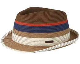 Loet Blue/Brown/Orange Trilby - Barts