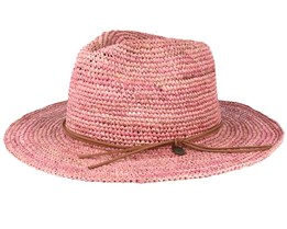 Celery Dusty Pink Straw Hat - Barts