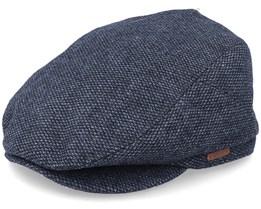 Oslo Black Flat Cap - Barts