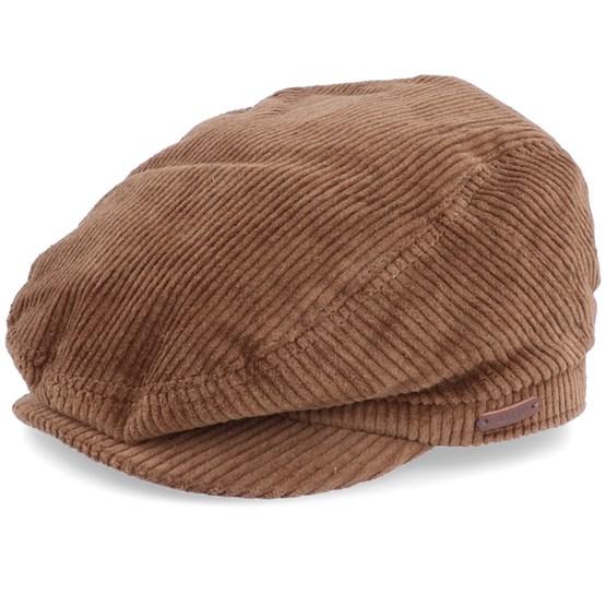 Keps Oslo Coffee Brown Flat Cap - Barts - Brun Flat Caps