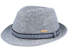 Hadrian Hat Charcoal Trilby - Barts