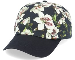 Floweries Cap Black Adjustable - Barts