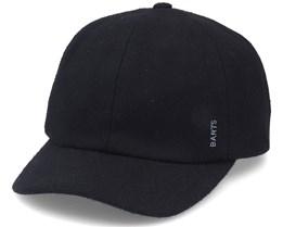 Kyles Dad Cap Wool Black Adjustable - Barts