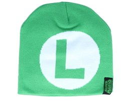 Nintendo Luigi Green Traditional Beanie - Difuzed