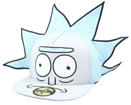 Rick And Morty Rick Novelty Beige/Blue snapback - Difuzed