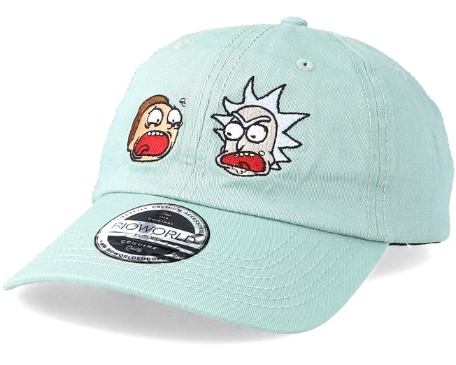 4be14f8ad11a8 Rick   Morty Dad Cap Mint Adjustable - Bioworld caps - Hatstorecanada.com