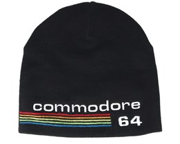 Commodore 64 Logo Black Beanie - Bioworld
