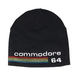 94864e617 Commodore 64 Logo Black Beanie - Bioworld