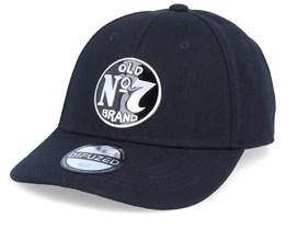 Jack Daniel's No.7 Metal Badge Black Adjustable - Difuzed