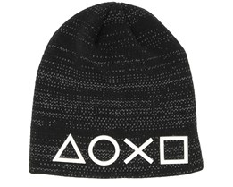 Playstation Symbols Black Beanie - Bioworld
