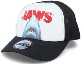 Universal Jaws White/Black Trucker - Difuzed