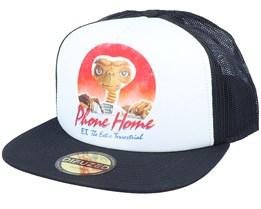 Universal E.T. Phone Home White/Black Trucker - Difuzed