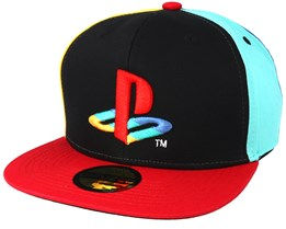 Playstation Original Logo Colours Multi Snapback - Bioworld
