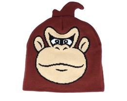 Nintendo Donkey Kong Brown Traditional Beanie - Bioworld