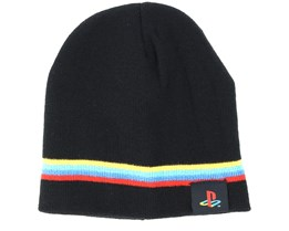 Playstation Classic Logo And Colors Beanie - Bioworld